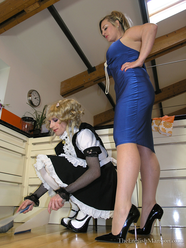 Naughty english maid dominated by soldier boy luke hardy - 1 4